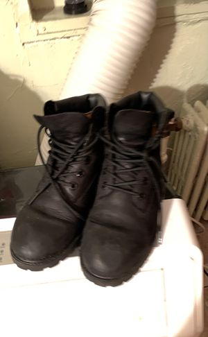 Timberland boots black for Sale in New York, NY