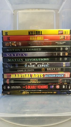 Kung Fu movies for Sale in Detroit, MI