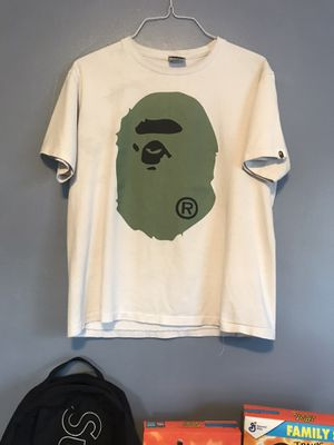 Bape Tee Size Large 🚨DEAL🚨 (Fits more of a medium/small) for Sale in West Covina, CA