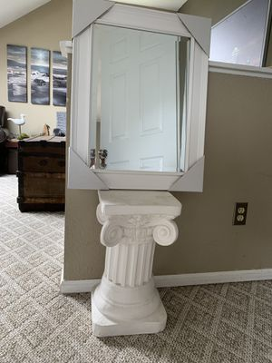 Brand New Clean White Wood Mirror for Sale in Everett, WA
