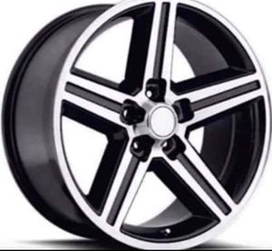 """18"""" 20"""" 22"""" Inch IROC Rims Wheels Black Machine Finish BRAND NEW In Stock Pricing Starting @ $174 Each for Sale in Westminster, CA"""