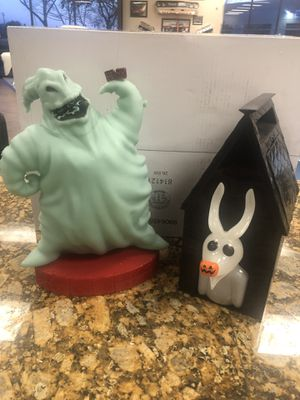 Disney Parks popcorn buckets the nightmare before Christmas for Sale in Sacramento, CA