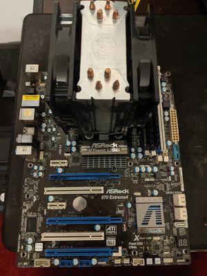 AMD 6300FX, 16gb Crucial Ram DDR3, AsRock Extreme4 USB for Sale in North Charleston, SC