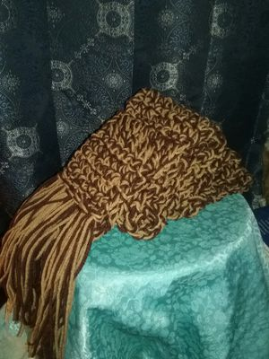Brown multi scarf for Sale in Derby, CT