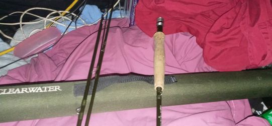 "Orvis Fly-fishing Pole 865-4 Piece Length 8'6"" 3 oz 5 Lot Line for Sale in Lumberport,  WV"