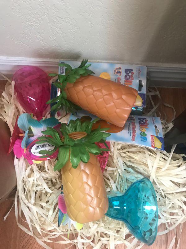 Moana themed birthday party favors