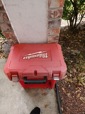 Milwaukee case for 18v drill for Sale in Pompano Beach, FL