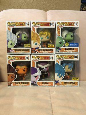 Dragonball Z Funko POP lot of 6 for Sale in Boynton Beach, FL