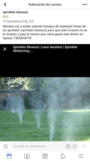 Sprinkler blowout for Sale in Commerce City, CO