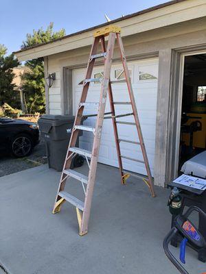 Werner 8ft. Fiberglass ladder for Sale in Murrieta, CA