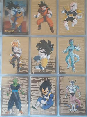 Dragonball Z Cards Artbox 1996-99 Series 1-3 Gold Foil Prism Super Collection for Sale in Riverside, CA