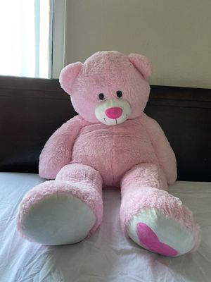 Giant Pink Valentine's Day Bear Plush for Sale in Fresno, CA