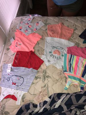 Carter and first expression baby girl clothes for Sale in Columbus, OH