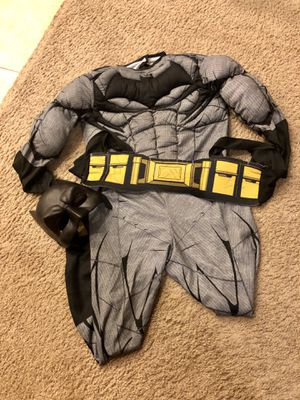 Kids Batman costume size M for Sale in Mesa, AZ
