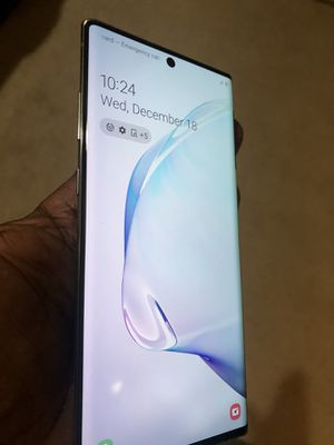 Unlocked Samsung Note 10 plus for Sale in Washington, DC