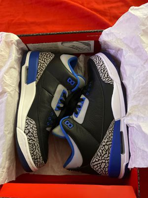 Jordan 3 no trades no lowball offers .Shoes excellent condition they are size 11 with OG box for Sale in San Diego, CA