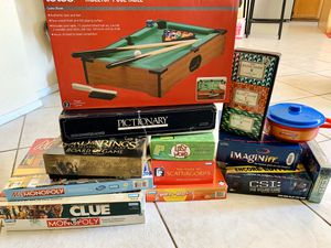 Board games - Scattergories Monopoly Clue Lord of the Rings and more for Sale in Fontana, CA