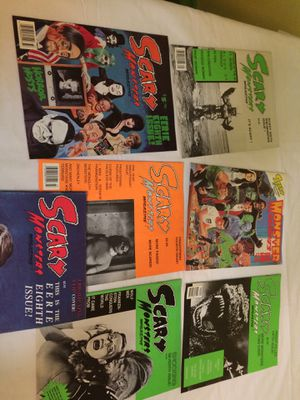 Scary Monsters magazine lot of 7 for Sale in Cicero, IL