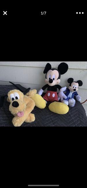 Disney Plushie Bundle for Sale in Des Moines, WA