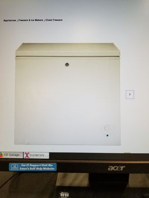 Chest Freeze 7 cu brand new Ge for Sale in Las Vegas, NV