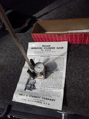 Starrett cylinder Gage #452-B for Sale in Leavenworth, WA
