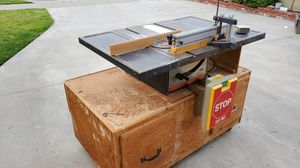 Table saw on cabinet for Sale in Buena Park, CA