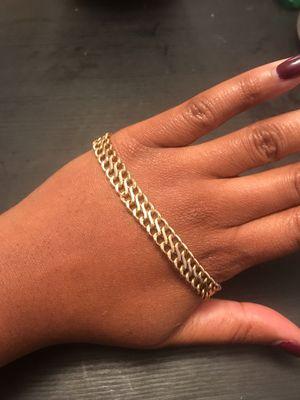 Vintage 14k gold chain bracelet for Sale in Berwyn Heights, MD