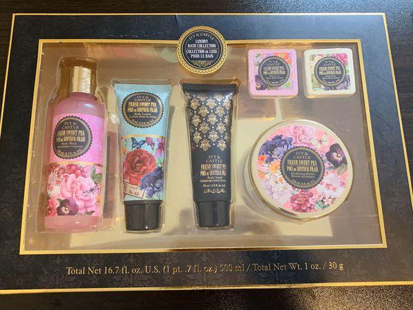 Ivy & castle luxury bath collection