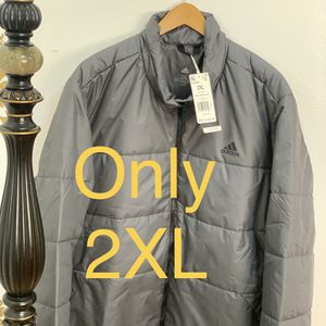 Adidas men's BSC 3 -Stripes Insulated winter jacket GE5854 size 2xL for Sale in Skokie, IL