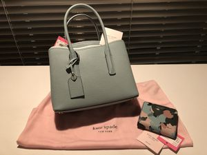 Kate Spade Mini Margaux Handbag and matching wallet for Sale in St. Louis, MO