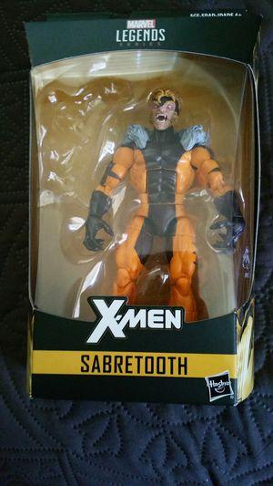 SABERTOOTH (NO BAF pc) MARVEL LEGENDS XMEN for Sale in Houston, TX