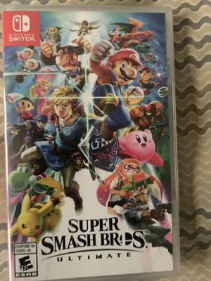 Super smash bros Nintendo switch for Sale in Orlando, FL