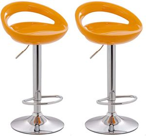 Barstool 806 Orange (Set of 2) for Sale in Elk Grove Village, IL