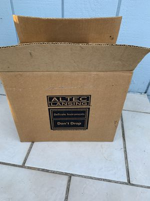 ALTEC- Lansing Speakers Acs90 BRAND NEW , In BOX , Never Used , Just open box to Take pictures, comes complete with Charger and confecționer cable for Sale in Portland, OR