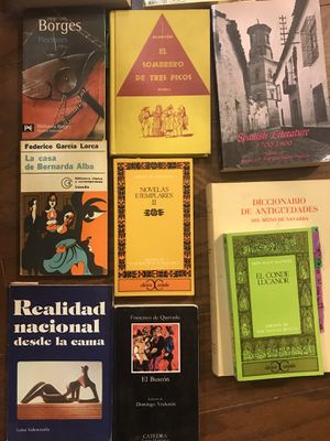 Spanish literature books / Colección de literatura hispana for Sale in Austin, TX