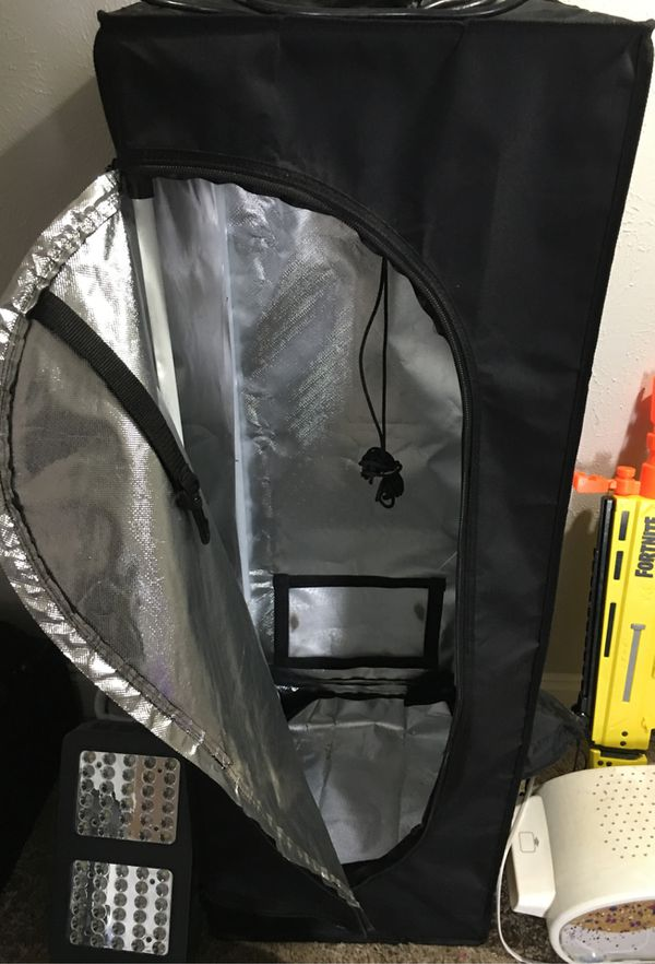 In Door Grow Tent With Lights And Filter For Sale In