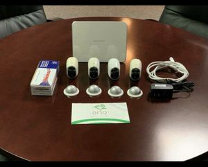 NETGEAR ARLO security camera system (includes 4 cameras). for Sale in Palatine, IL