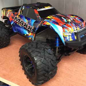 Traxxas Maxx 4S 1/10 Scale Brushless Truck @ Parkflyers RC Hobby Shop in Lakewood NJ for Sale in Lakewood Township, NJ