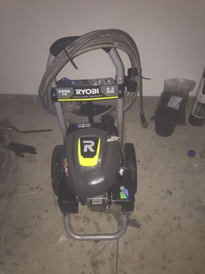 2900 Psi Ryobi pressure washer for Sale in Hinckley, OH