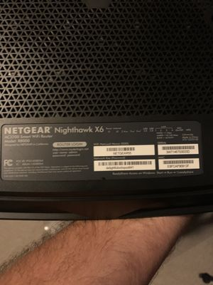 Netgear Nighthawk X6 router & Zoom DOCSIS 3.0 Cable Modem for Sale in Orlando, FL