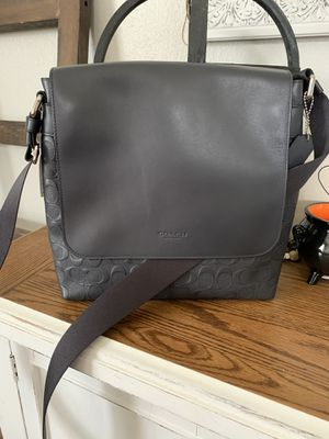 Brand new Black messenger Men Bag. for Sale in Colton, CA