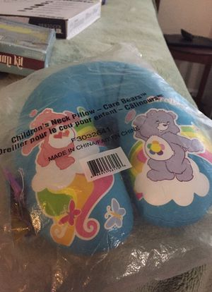 Children's care bears neck pillow for Sale in Bowie, MD