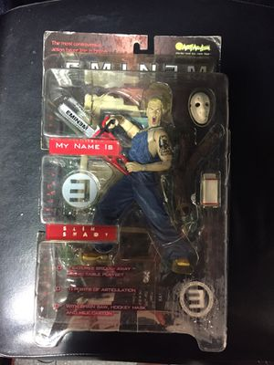 MY NAME IS SLIM SHADY ART ASYLUM EMINEM ACTION FIGURE DOLL MARSHALL MATHERS for Sale in Fremont, CA