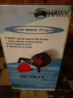 NEW Hawk Scout Aqua Scooter w/ dive suit for Sale in Baltimore, MD