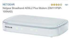 Netgear Broadband Modem for Sale in Humble, TX