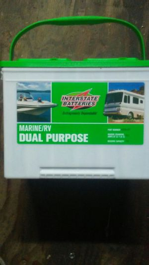 Interstate Marine/R.V. Deep Cycle Dual Purpose for Sale in Eugene, OR