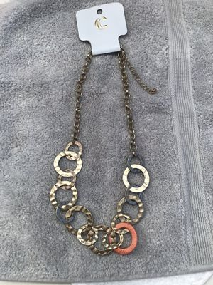 Ladies Brass Fashion Necklace for Sale in Martinsburg, WV