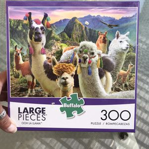 NEW!!! 300 LARGE Pieces Puzzle OOH LA LLAMA for Sale in Torrance, CA