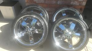 "22""rims 5 lug for Sale in Pittsburg, CA"