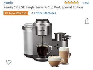 Keurig cafe special edition for Sale in Dallas, TX